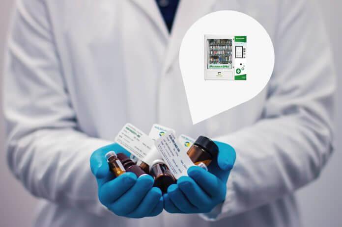 medicinali da banco vending