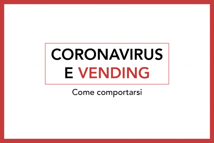 coronavirus e vending