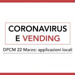 coronavirus dpcm vending